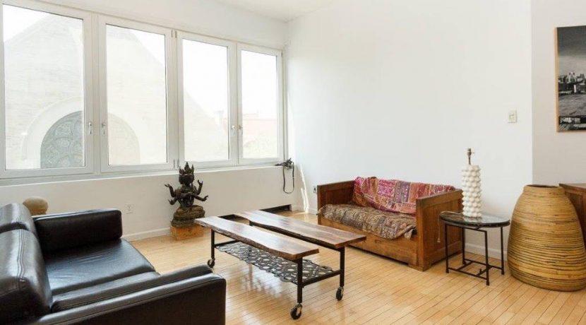 497 Pacific Street Apartment Rental - Holiday Estates- Living Room b