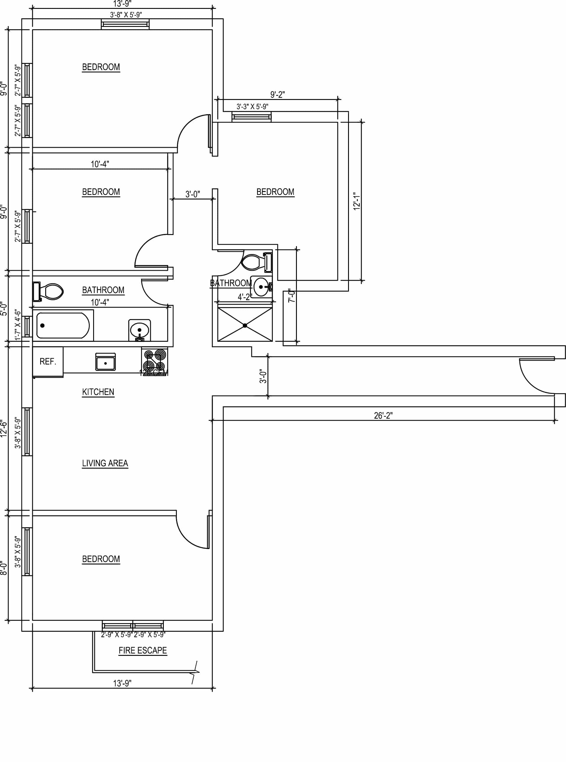 815 West 180th Street Floor Plan